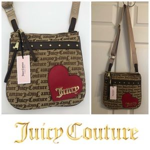 Juicy Couture Cross My Heart DK Chino Gothic Bag